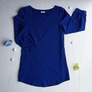 Tobi - Royal Blue, Long Sleeve Dress